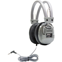 SchoolMate Deluxe Stereo Headphone with 3.5 mm Plug and Volume Control