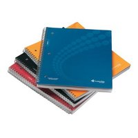 LiveScribe Dot Matrix College Ruled Notebooks Asst 4 Pack