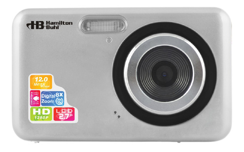 """12MP Digital Camera with Flash and 2.7"""" LCD"""