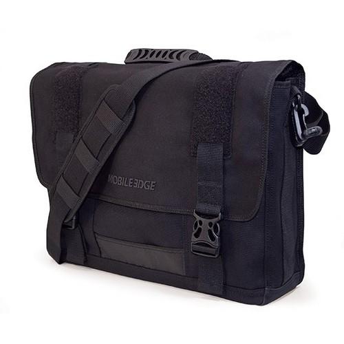 "15.4"" Canvas ECO Messenger Bag (Black)"