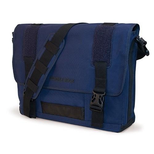 "15.4"" Canvas ECO Messenger Bag (Navy)"