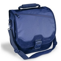 "15.6"" SaddleBag Notebook Computer Carrying Case (Black)"