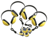Califone Listening First Listening Center (Yellow)