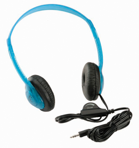3060AV Multimedia Stereo Headphones (Blueberry)