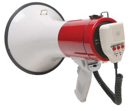 25W Megaphone