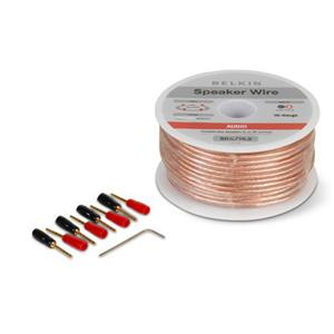 25Ft Speaker Wire with Pins