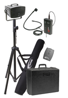 PA319PC Wreless PresentationPro Package with UHF Flexible Collar Microphone