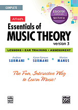 Essentials of Music Theory 3 Educator Version, Complete Volume