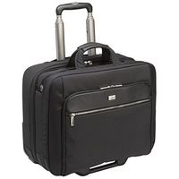 "17"" Security Friendly Rolling Laptop Case (Black)"