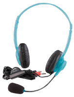 Califone 3064AV Multimedia Stereo Headset (Blueberry)
