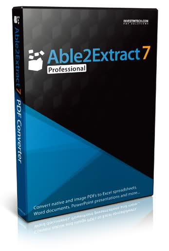 Able2Extract Professional 7 (Electronic Software Delivery) for Win