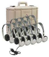 3060AVS Multimedia Stereo Headphone Classroom 12 Pack