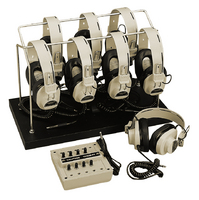 Califone 1218AVP-03 8-Position Listening Center
