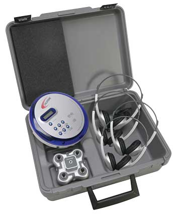 Califone CD102-PLC 4-Person Portable CD Learning Center