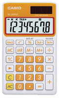 Casio SL-300VC Basic Calculator (Orange)