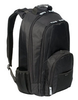 "17"" Groove Backpack (Black)"
