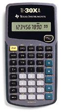 TI-30Xa Scientific/Fraction Calculator