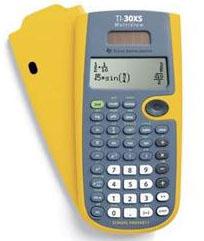 TI-30XS MultiView EZ Spot Calculator (Yellow) (10 Pack)