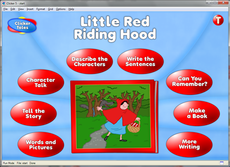 Clicker Tales: Little Red Riding Hood (OneSchool Site License