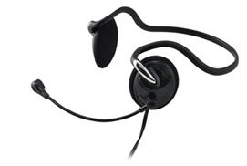 Behind the Neck Stereo Headset with Microphone