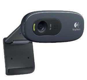 C270 HD Webcam (Black)