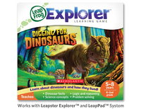 Leapster Explorer Learning Game: Digging for Dinosaurs