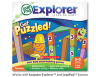 Leapster Explorer Learning Game: Get Puzzled!