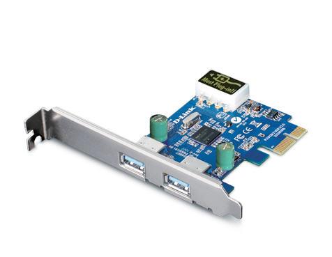 2-Port USB 3.0 PCI-E Card