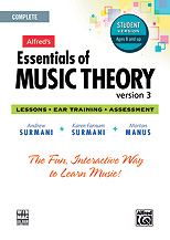 Essentials of Music Theory 3 Student Version, Complete Volume