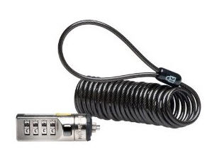 Portable Combination Laptop Lock (Black)