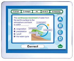 Middle School Earth Science Interactive Review Question CD (Site License)