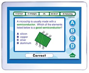 Middle School Physical Science Interactive Review Question CD (Site License)