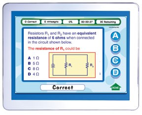 High School Physics Interactive Review Question CD (Site License)