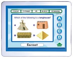 Grade 4 Social Studies Interactive Review Question CD (Site License)
