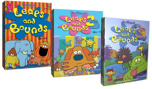 Leaps and Bounds Series - 4 CD Set (5 User)