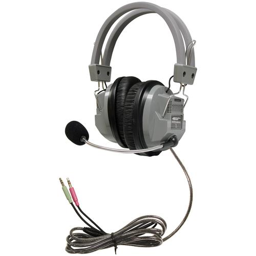 SchoolMate Deluxe Headset with Gooseneck Microphone