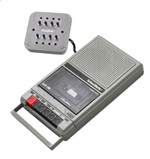 Classroom Cassette Player, 8 Station, 1 Watt