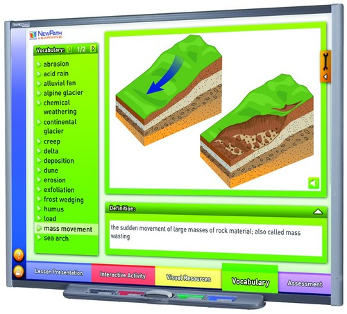 Earth's Surface Multimedia Lesson (Site License)