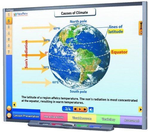 Earth's Climate Multimedia Lesson (Site License)
