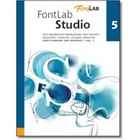 FontLab Studio 5.x Win (Electronic Software Delivery)