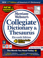 Merriam Webster's Collegiate Dictionary & Thesaurus (Electronic Software Delivery)