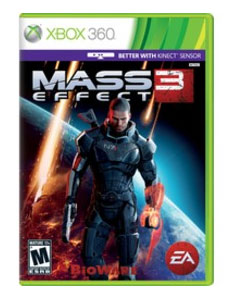 Xbox 360 Game: Mass Effect 3