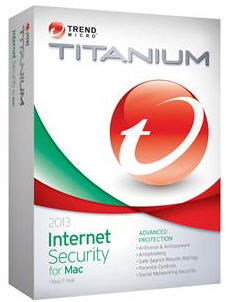 Titanium Internet Security 2013 for Mac 3 User/1 Year for Mac