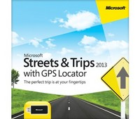 Streets & Trips 2013 with GPS Locator