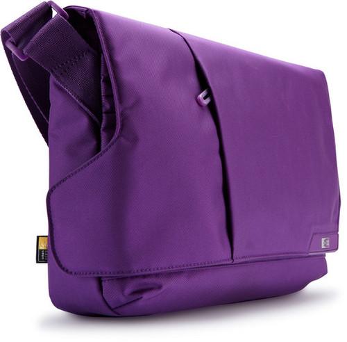 "11"" iPad and Laptop Messenger Bag (Purple)"