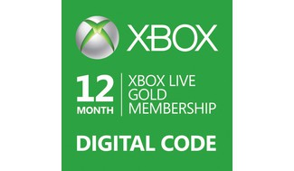 Xbox LIVE Prepaid 12 Month Gold Membership