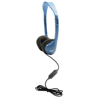 Personal Headset with In-Line Microphone and TRRS Plug