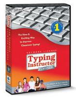 Typing Instructor Platinum 21 Desktop 30-User License Perpetual Windows