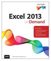 Excel 2013 On Demand Book