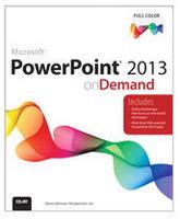 Powerpoint 2013 On Demand Book